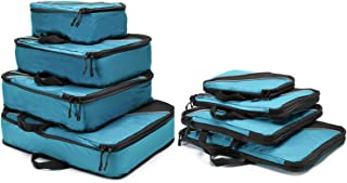Ecredit Packing Cubes,Mesh Compression Travel Packing Cubes Packing Organizer for Men/Women