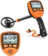 TACKLIFE Metal Detector, Metal Finder Mainly for Kids with Large Back-lit LCD Display, Lightweight & Waterproof Coil for Treasure Hunting, Gift for Junior - MMD03