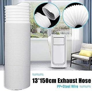 Fattigger Tubo de Escape Universal Flexible de 13 x 150 cm para Aire Acondicionado portátil, Herramientas de Mano