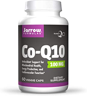 Jarrow Formulas Co-Q10, Promotes Cellular Energy Production, 100 mg, 60 Caps