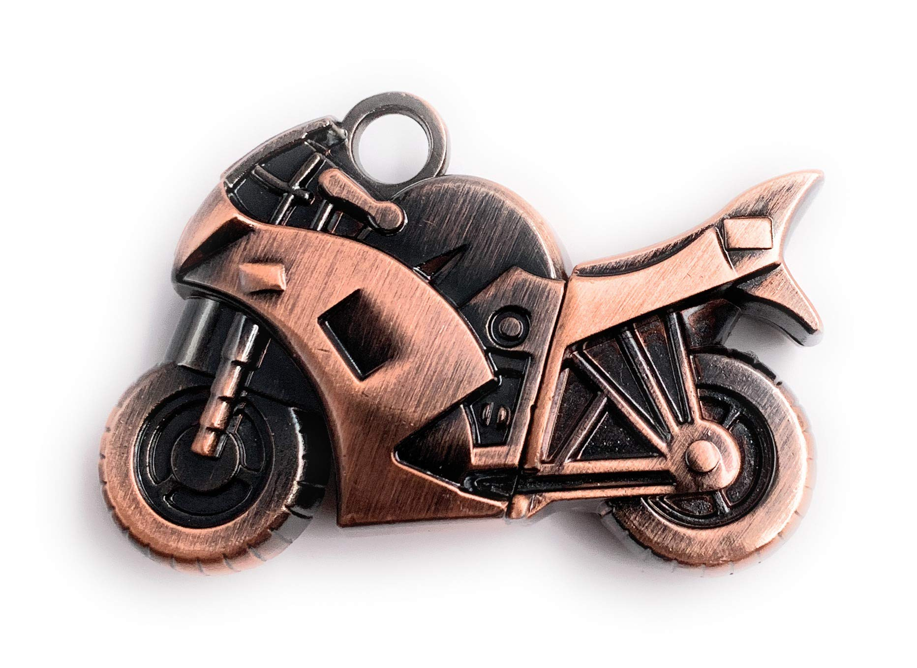 H-Customs Motocicleta Bicicleta Chopper Bronce Metal USB Stick ...