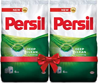 Persil Laundry Detergent Powder - Pack of 2 x 6 Kilograms