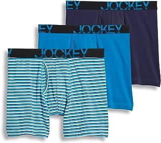 Jockey Men's Underwear ActiveStretch Midway Brief - 3 Pack