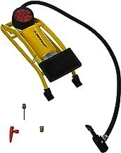 Dunlop met manometer voetpomp, geel, 23,7 x 8,5 x 7 cm