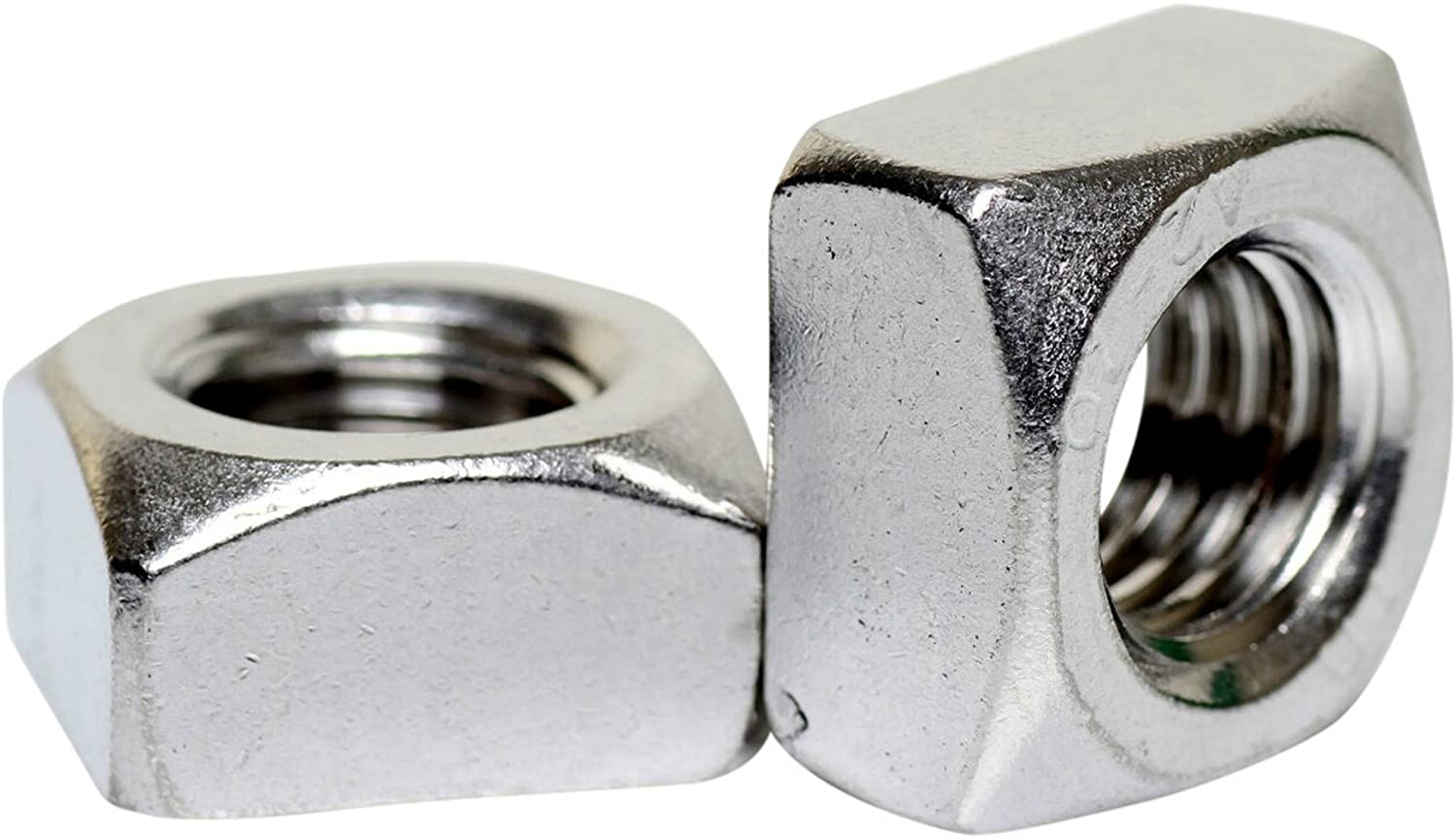 A2 Great interest Topics on TV Stainless Steel Chamfered Thick M Nuts 557 Square DIN