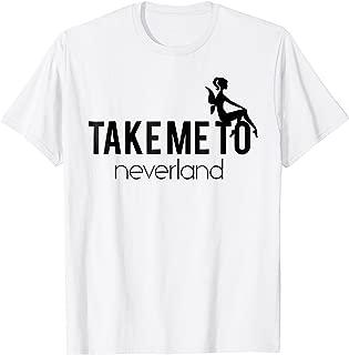 Take me to Neverland shirt Fairy moon stars shirt