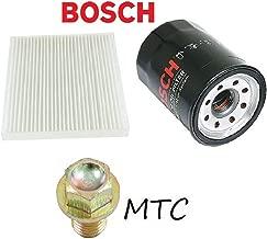Tune Up Kit Cabin Air Oil Filters Drain Plug for Honda CR-V 2008-2014