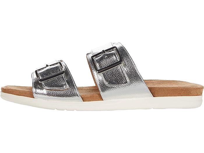 Aerosoles Hamden Silver Metallic Sandals