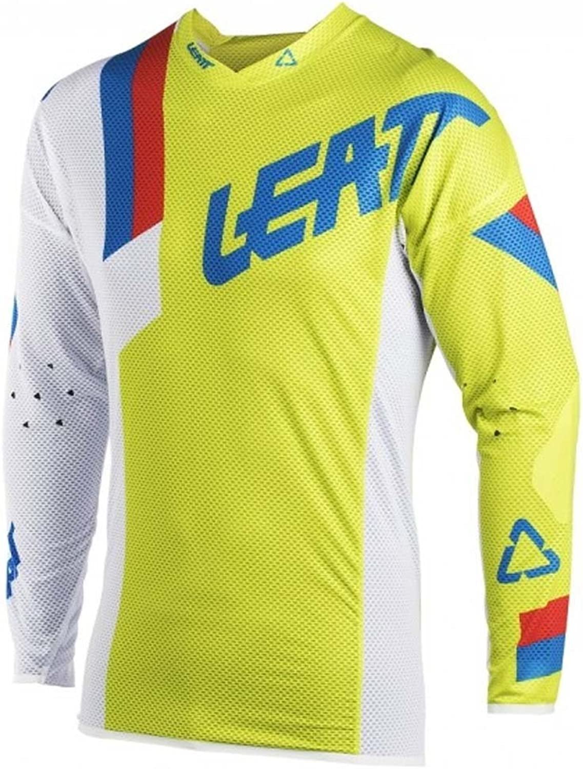 Leatt GPX5.5 Ultraweld Motocross Shit Lime White