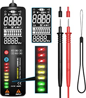 "MAXRIENY 2.4"" EBTN Display Voltage Detector Pen Non-Contact AC Voltage Tester Resistance Frequency Volt Continuity V-Alert..."
