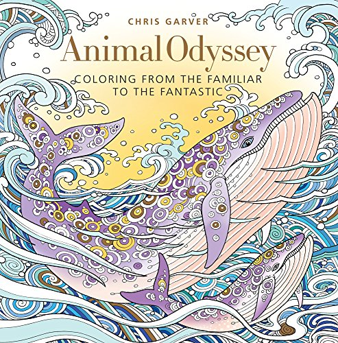 Animal Odyssey: Coloring from the Familiar to the Fantastic