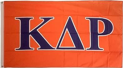 Kappa Delta Rho Letter Fraternity Flag 3 Foot x 5 Foot Banner Greek Letter Sign Decor KDR