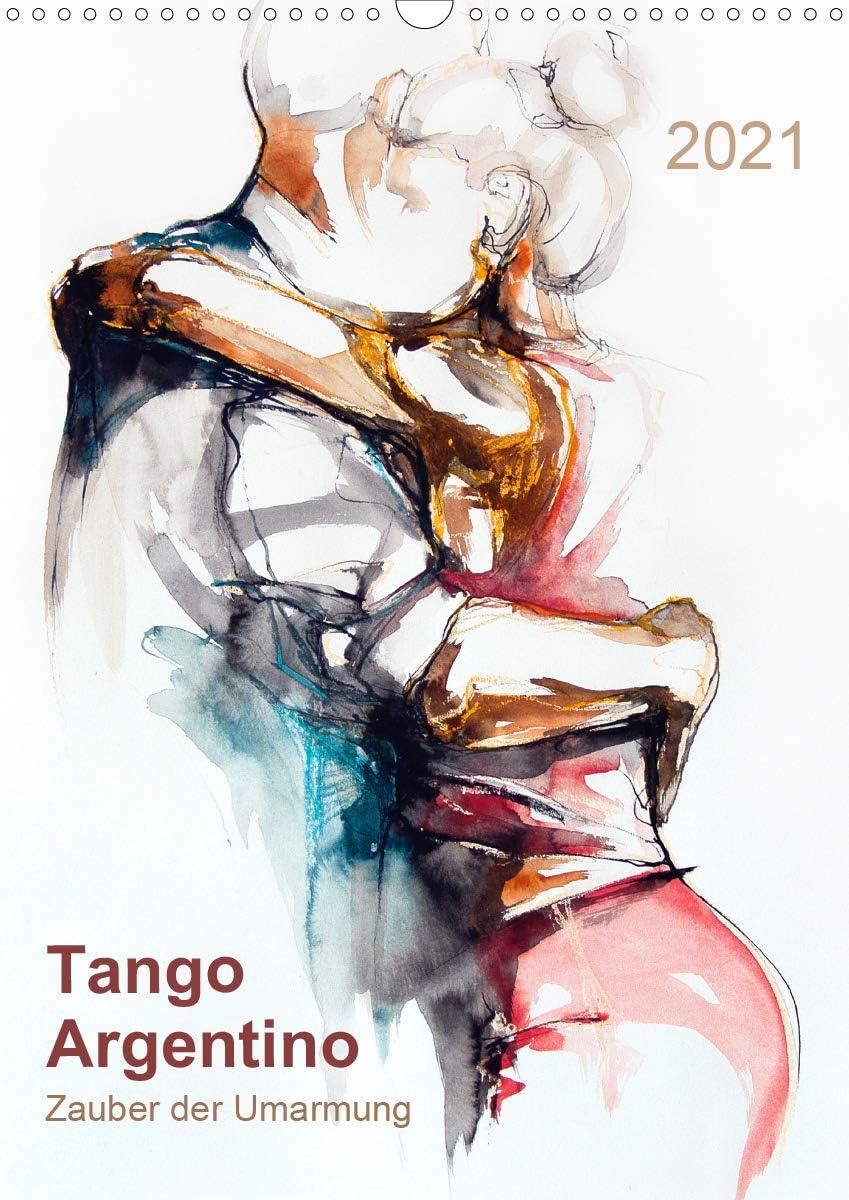 Tango Argentino - Zauber Popular brand der 2021 55% OFF A3 Umarmung Wandkalender DIN