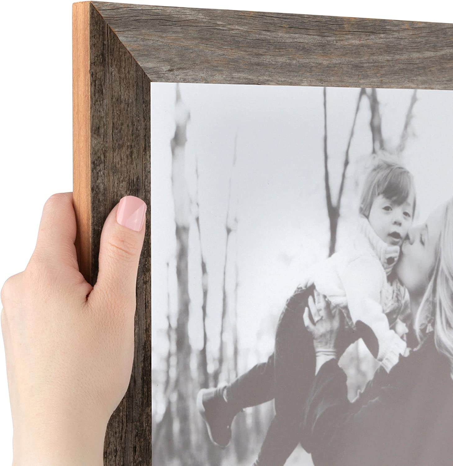 ArtToFrames 12x12 Inch Brown Picture Frame Woo This Custom Low price 1.5