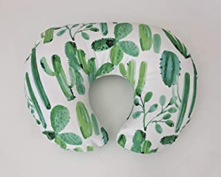 Nursing Pillow Cover - Watercolor Cactus
