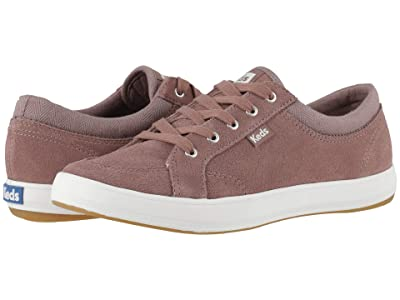 Keds Center Suede Mix (Mauve Suede/Canvas) Women