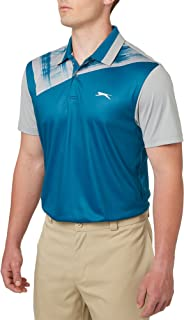 Men's Mineral Chest Print Golf Polo