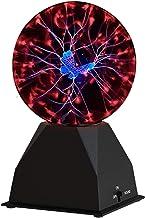 Luxergoods Magic Plasma Bol - Discolamp - Plasma Bal - Stroom bol - Vlinder - Adapter