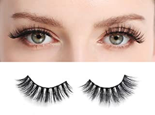One Lash 3D Mink Fake Eyelashes Extension Lightweight and Reusable Handmade False Eyelashes Natural Soft and Comfortable for All Eye Types