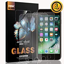 Tempered Glass Film for iPhone 6 i7 and iPhone 6s i8 4.7 Inch Screen Protector 3 Pack (for iPhone 6/6s and 7/8)