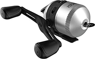 Zebco 33 Spincast Fishing Reel, Quickset Anti-Reverse with Bite Alert, Smooth Dial-Adjustable Drag, Powerful All-Metal Gears with a Lightweight Graphite Frame