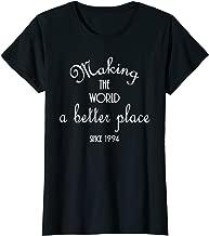 Womens 25th birthday gift shirt 1994 for women turning 25 years old