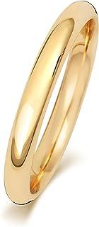 Anello Fede Nuziale Uomo/Donna 2,5mm in Oro giallo 9k (375) WJS189009KY