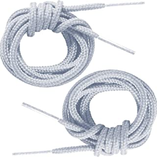 Round Thin Dress Shoelaces (2 Pair Pack) - Made in the USA