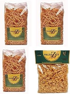 4x PALEO Nudeln Kohlenhydratreduzierte Pasta GLUTENFREIE Nudeln Gourmet Delicatesse 4x 250g Sesammehl
