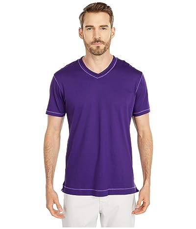 Robert Graham Maxfield T-Shirt (Purple) Men