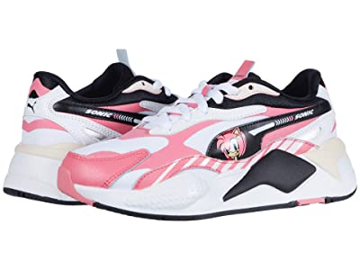 Puma Kids Sega RS-X3 Sonic (Big Kid) (Bubblegum/Rosewater) Girl