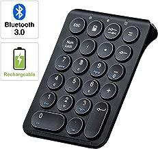 SANWA (Japan Brand) Slim Bluetooth Number Pad, Wireless Numeric Keypad, Portable &..