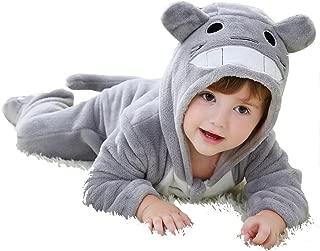 CANDIDO Toddlers' Pajamas Unisex Baby Cosplay Animal Onesie Romper