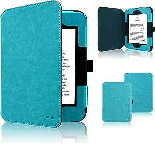 Nook GlowLight 3 Case, ACdream Folio Premium Leather Ereader Cover Case for Barnes & Noble Nook GlowLight 3 (2017 Release), (Sky Blue)