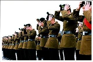 Vintage photo of The Royal Irish Rangers celebrated St Patrick39;s Day
