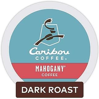 Caribou Coffee Mahogany, Single Serve Coffee K-Cup Pod, Flavored Coffee, 96