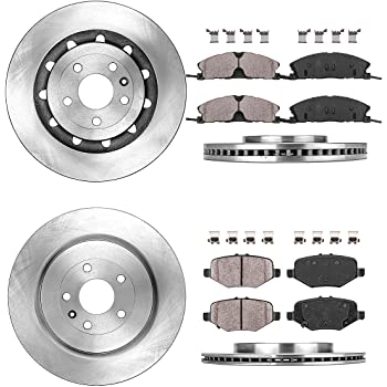 2010 Lincoln MKS OE Replacement Rotors w//Ceramic Pads F