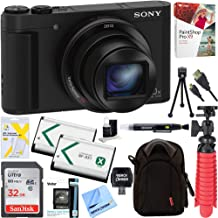Sony Cyber-Shot HX80 Compact Digital Camera with 30x Optical Zoom (Black) + a SDHC 32GB UHS Class 10 Memory Card + Accesso...