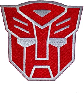 Transformers Autobot Head Logo Iron-On Patch