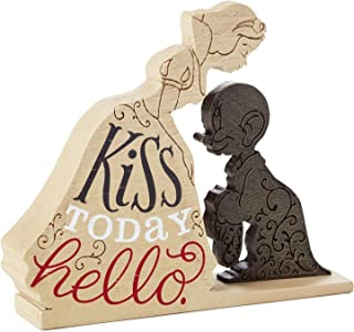HMK Hallmark Snow White Kiss Today Hello Quote Sign
