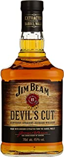 "Jim Beam Devil""s Cut Kentucky Straight Bourbon Whiskey, robuster Geschmack mit intensiven Eichen- und Vanillenoten, 45% Vol, 1 x 0,7l"