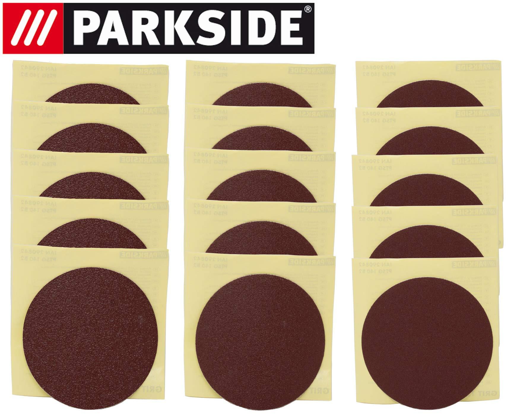 Hojas de lijado Set para Parkside – Lijadora de plato ESG ptsg 140 ...