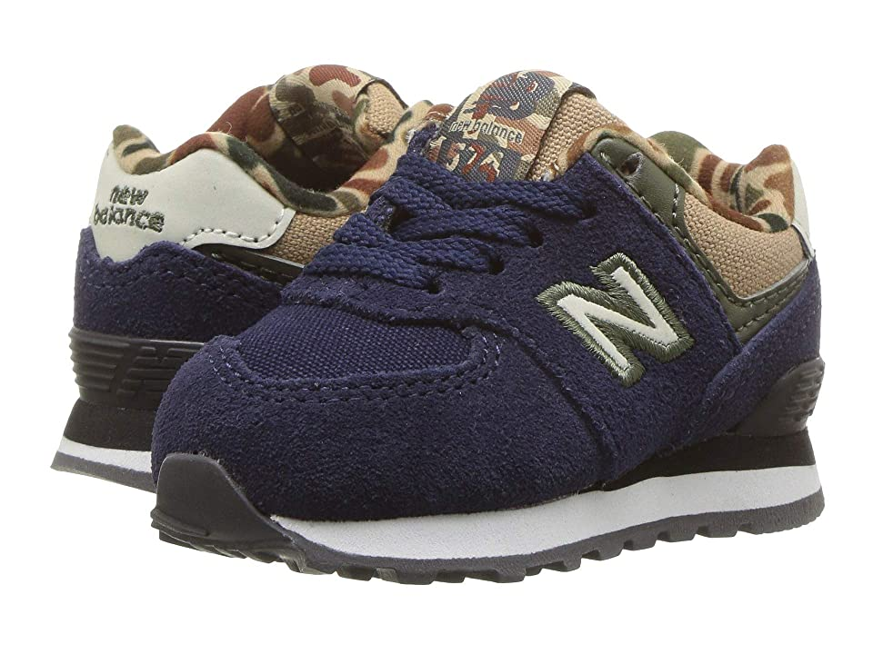 New Balance Kids IC574v1 (Infant/Toddler) (Pigment/Hemp) Boys Shoes
