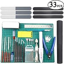 BXQINLENX Professional 33 PCS Gundam Model Tools Kit Modeler Basic Tools Craft Set Hobby Building Tools Kit for Gundam Car...