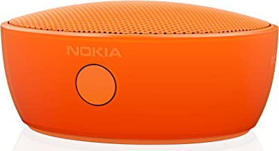 Nokia MD-12 Rechargeable Bluetooth/NFC Wireless Portable Mini Speaker with Built-In Microphone for Smartphones/Tablets - Orange