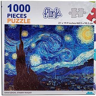 FLINK Rompecabezas Van Gogh, La Noche Estrellada
