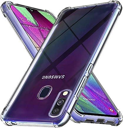 Ferilinso Cover per Samsung Galaxy A40, Custodia Case Ultra Slim Custodia Protettiva in Silicone Resistente ai Graffi Custodia alla Copertura in Gomma TPU per Samsung Galaxy A40(Trasparente)