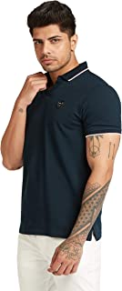 Iconic Men's 2300324 U 20 DANNY Knitted Polo Shirt, Navy