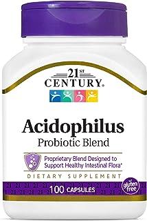 21st Century Acidophilus Capsules, 100 Count (21339)