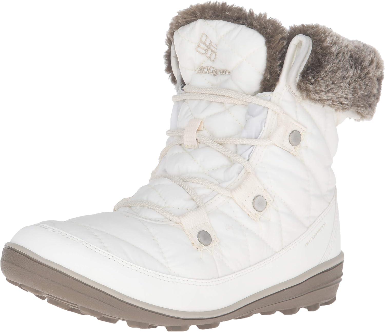 Columbia Heavenly Shorty Omni-Heat Stiefel - damen Sea Salt Fawn, 6.0  | Garantiere Qualität und Quantität